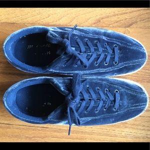 Tretorn X Madewell Velvet Sneakers